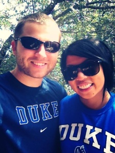 "on 8/9/13, we shared our news on FB to make it ""official"" Hubs wrote: ""I can't keep the good news in any longer. I have been accepted into the Duke Nurse Anesthesia Class of 2016! I am so incredibly thankful for the blessings God has given to us! Thanks to our friends and family for all the love and support! :)"