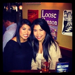 with the better half of P & P :)