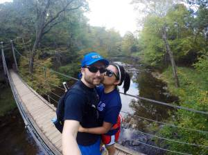 One day after work, we hiked at the Eno River State Park. I am so grateful for this state and my husband!