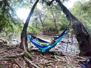 ENO hammocking at the Eno River. Perfection.