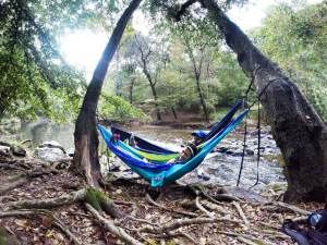 ENO hammocking at the Eno River. Perfection.