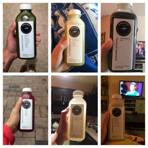 My 6 juices per day!