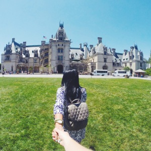 Follow me to the Biltmore House.. or really mansion