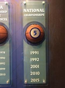 Duke Basketball Museum