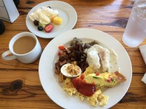 All-you-can-eat breakfast buffet at Geer Street Garden!